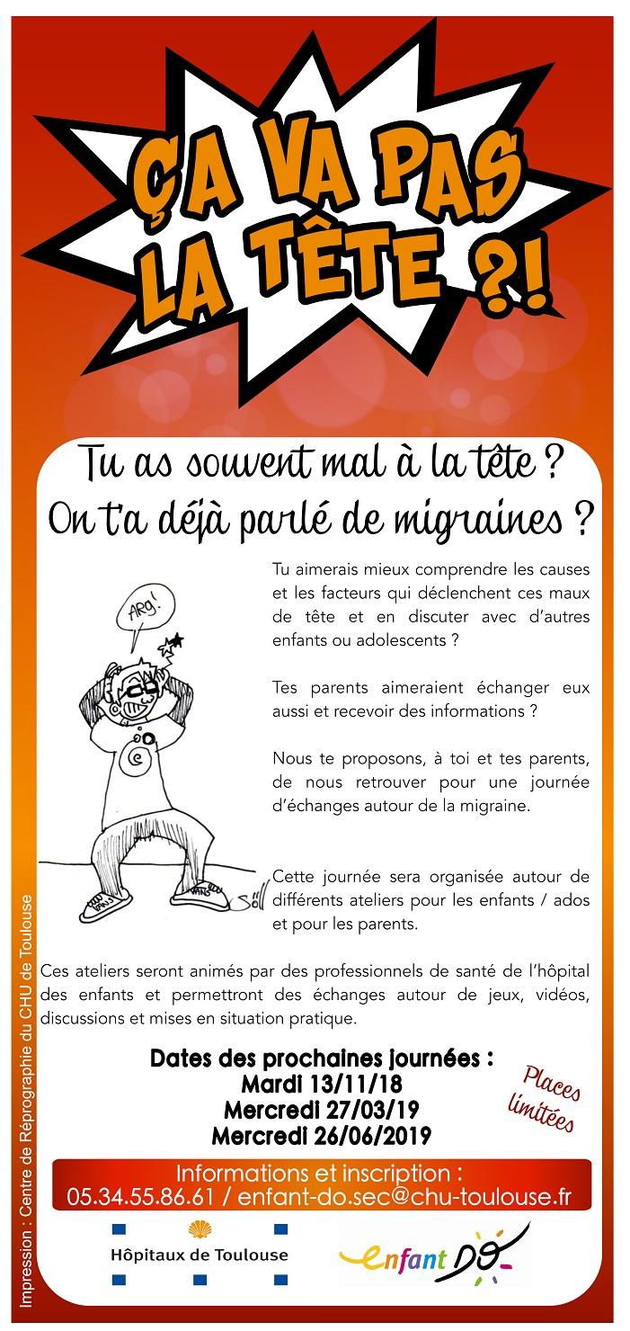 Migraines et céphalées - Centre Hospitalier Universitaire (CHU) de ...